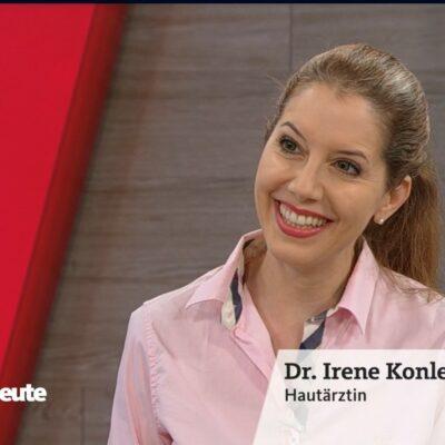 WDR Hier und Heute am 7.7.21 . Thema: Hautpflege